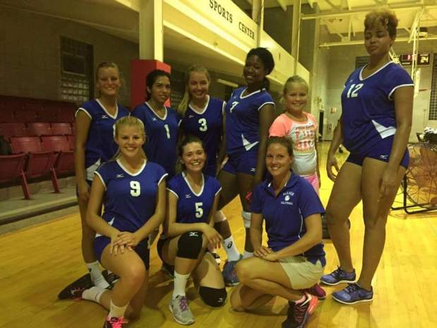 Our 2015 Women's Volleyball Team